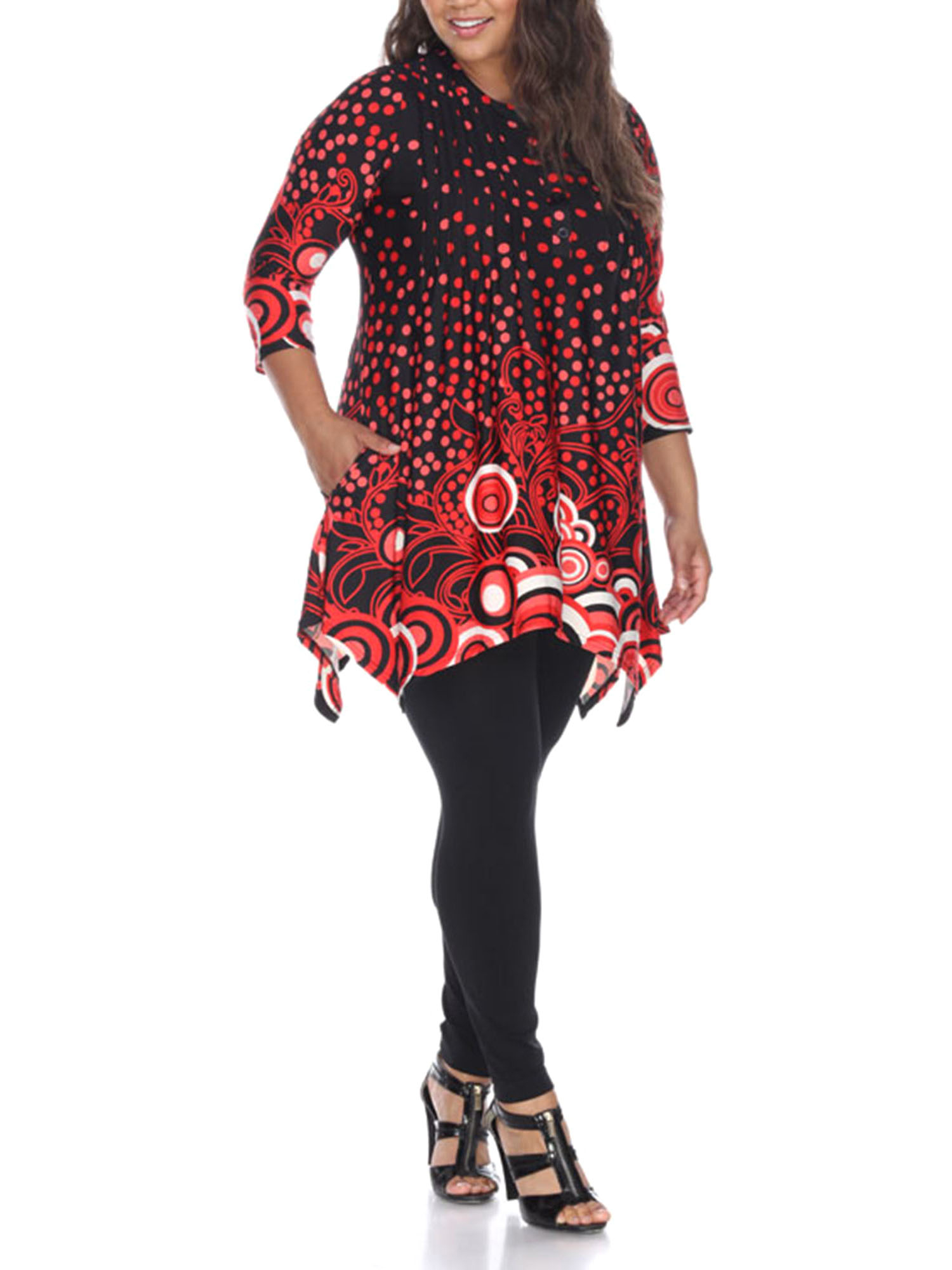 Women's Plus Size Sigrid Tunic Top