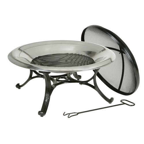 Deckmate Cast iron Wood Burning Fire pit