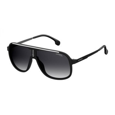 Carrera Unisex Carrera 1007/S Matte Black With Dark Gray Gradient Lens One (Azure Gradient Lens)