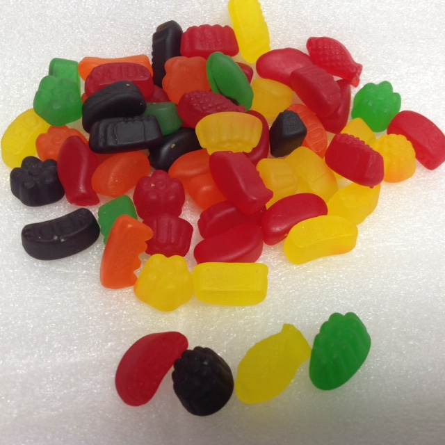 Heide JuJy Fruits bulk candy 1 pound JuJu Fruits JUJYFRUITS