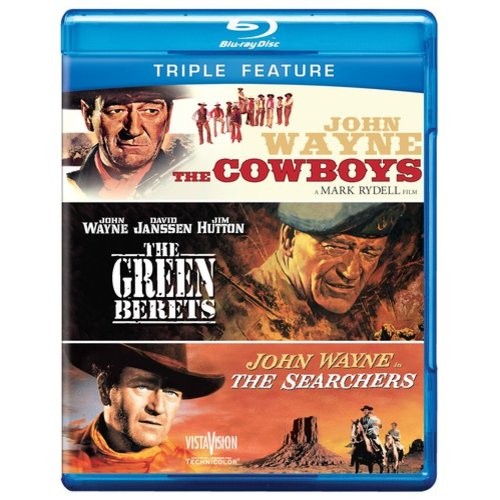 The Cowboys / The Green Berets / The Searchers (Blu-ray)