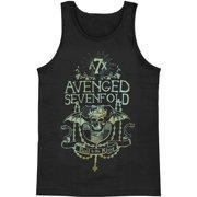 Avenged Sevenfold Women's  King's Prayer Womens Tank Black