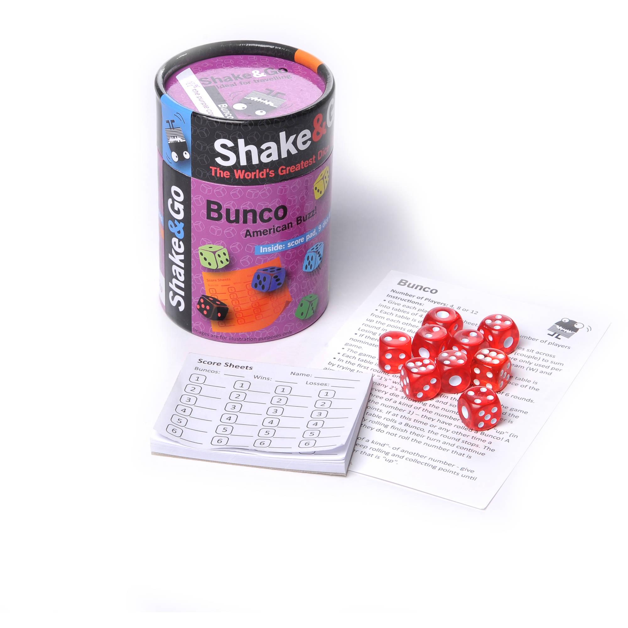 Shake and Go Bunco
