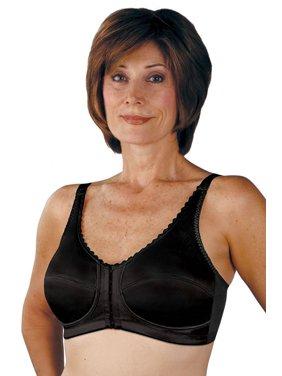 5d28a10e48 Product Image Classique Post Mastectomy Front   Back Closure Bra 732 -38D -  Black