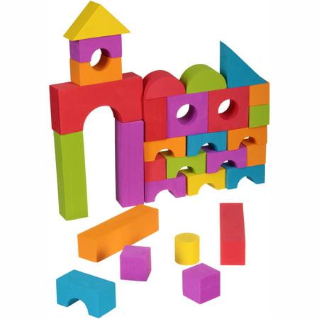 Spark Create Imagine™ Foam Building Blocks 100 ct Bag