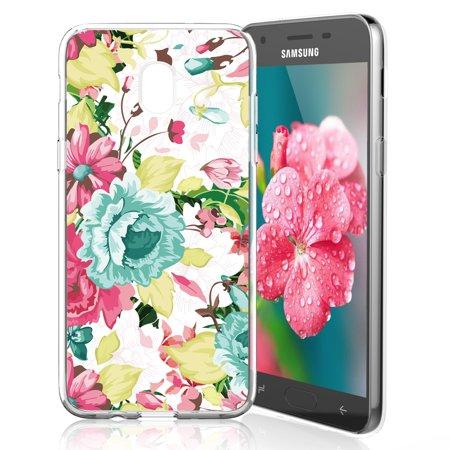 TJS LG Stylo 4 2018/ LG Stylo 4 Plus/LG Q Stylus Ultra Thin Slim TPU Matte  Color Transparent Clear Soft Skin Phone Case (Blue Flower) - Walmart com
