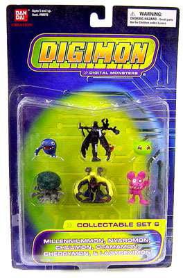 Digimon Collectible #6 PVC Set by
