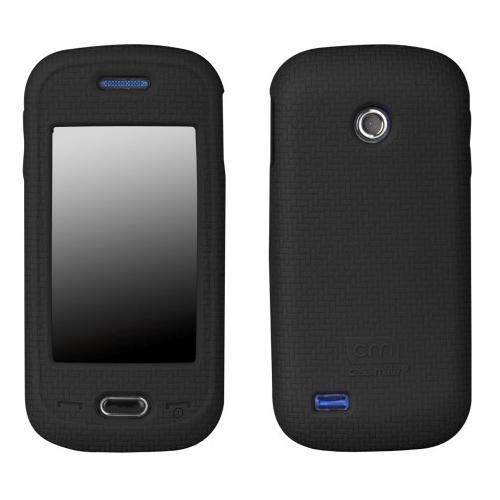 Case-Mate Smart Silicone Skin Case for Samsung Eternity II SGH-A597 - Black