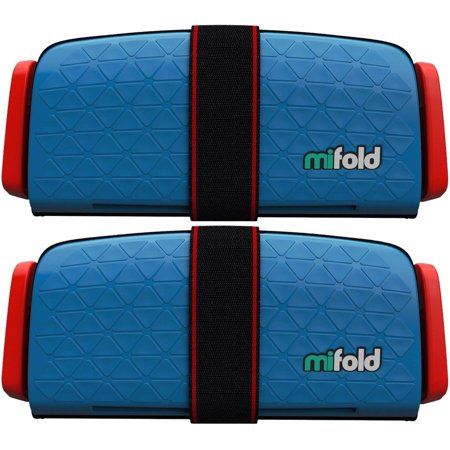 Mifold 2-Pack MF01-US/DBL Grab-and-Go Car Booster Seat (Denim