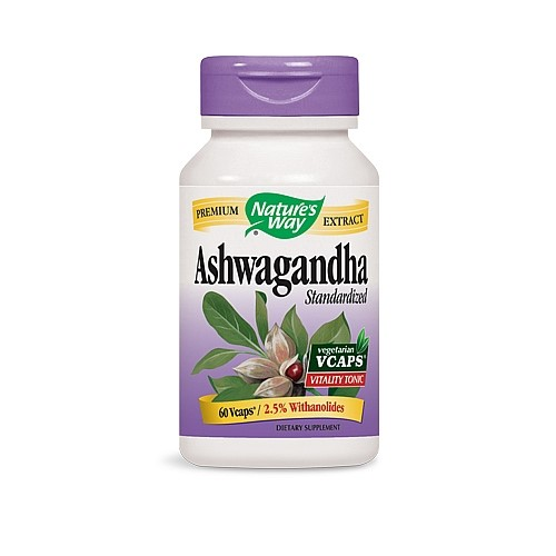 Nature's Way Ashwagandha - 60 Vcaps