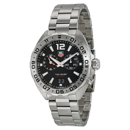 Tag Heuer Men's Formula 1 WAZ111A.BA0875 Silver Stainless-Steel Swiss Automatic Dress Watch
