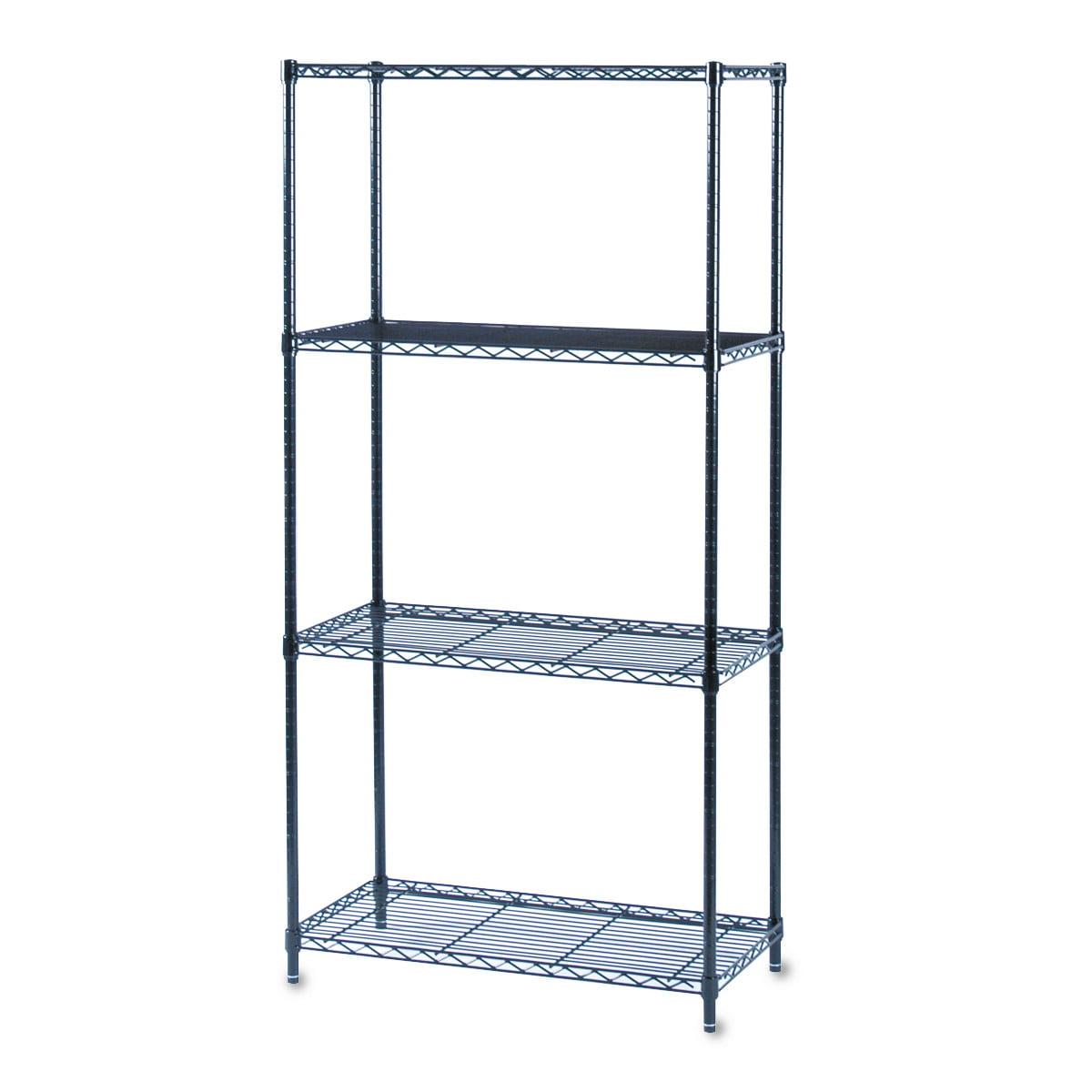 36W x 18D Black Wire Shelf