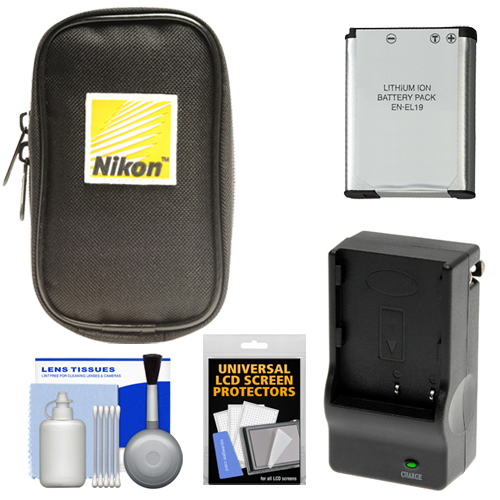 Nikon Coolpix Nylon Digital Camera Carrying Case With En
