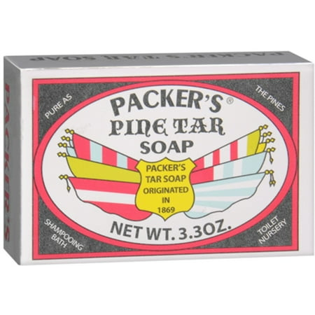 PACKER'S Pine Tar Soap 3.30 oz (Best Pine Tar Soap)