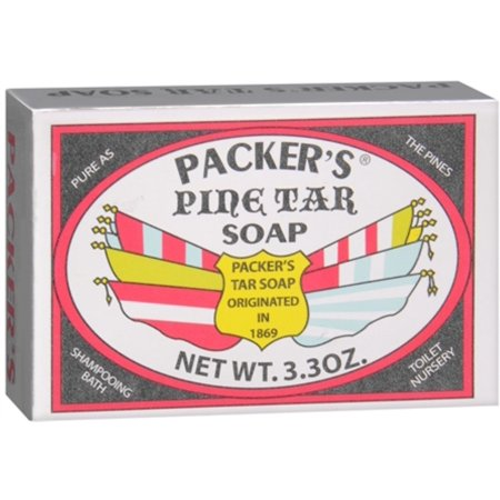 Packers Tar Soap (PACKER'S Pine Tar Soap 3.30 oz)