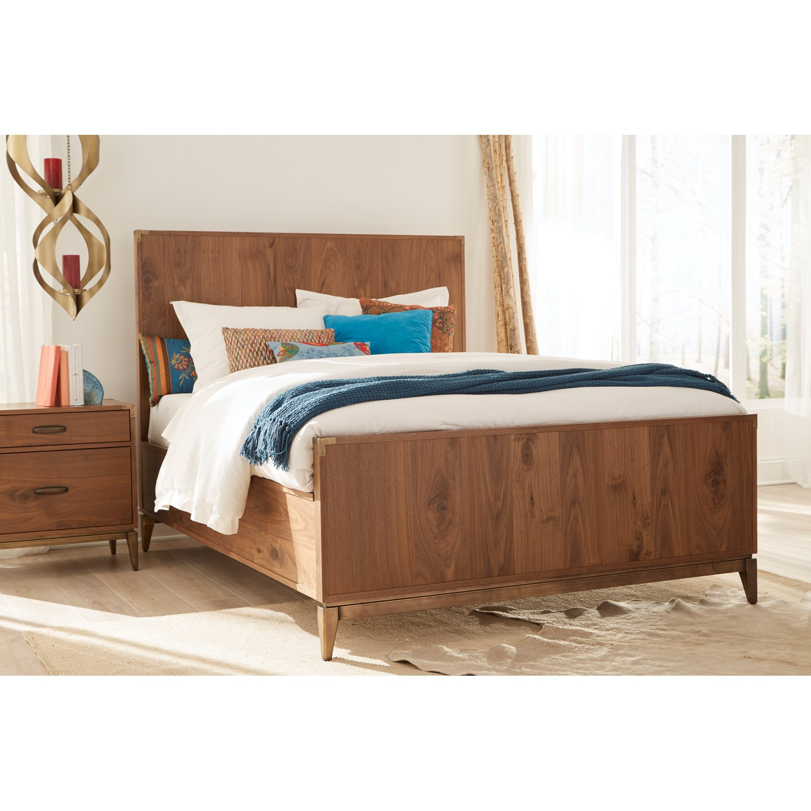 Modus Adler Low Profile Panel Bed by Modus Furniture