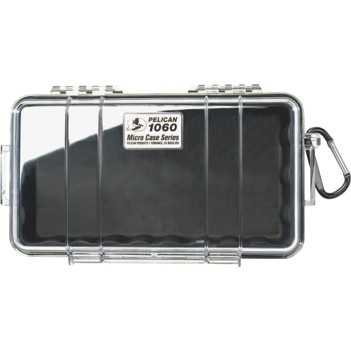 Pelican 1060-025-100 Protective Case Clear Black