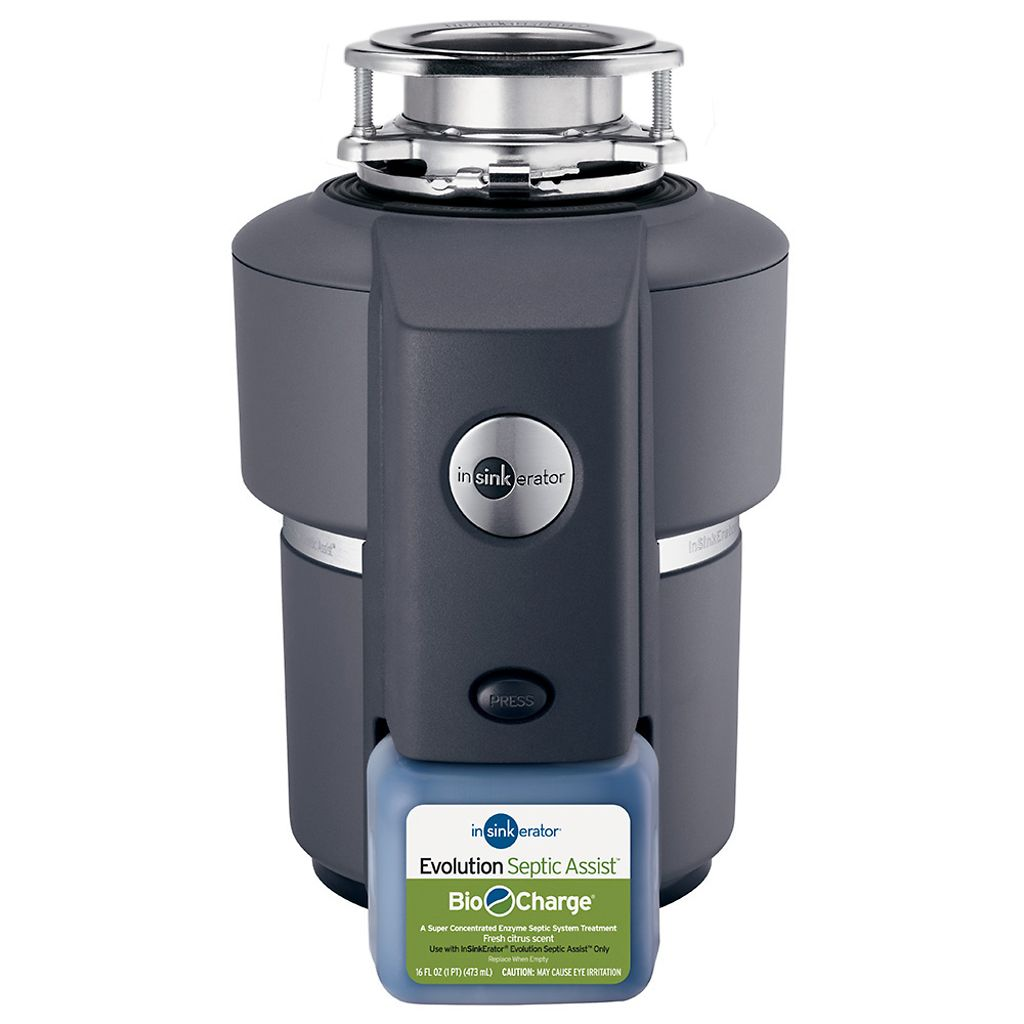 InSinkErator Evolution Septic Assist 3/4HP Kitchen Household Garbage Disposal