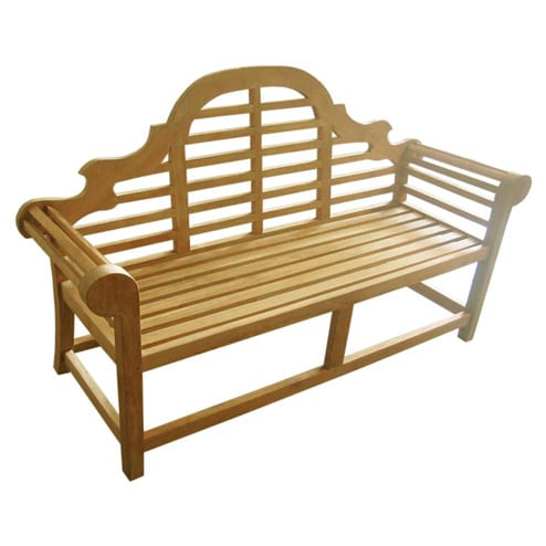 D-Art  Teak Lutyen 3-seater Bench (Indonesia)