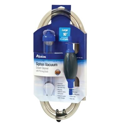 "Aqueon Siphon Vacuum Gravel Cleaner W/Bulb, Large 10"""