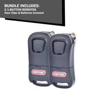 (2 Pack) Genie Mini 1 Button Intellicode Garage Door Opener Remotes