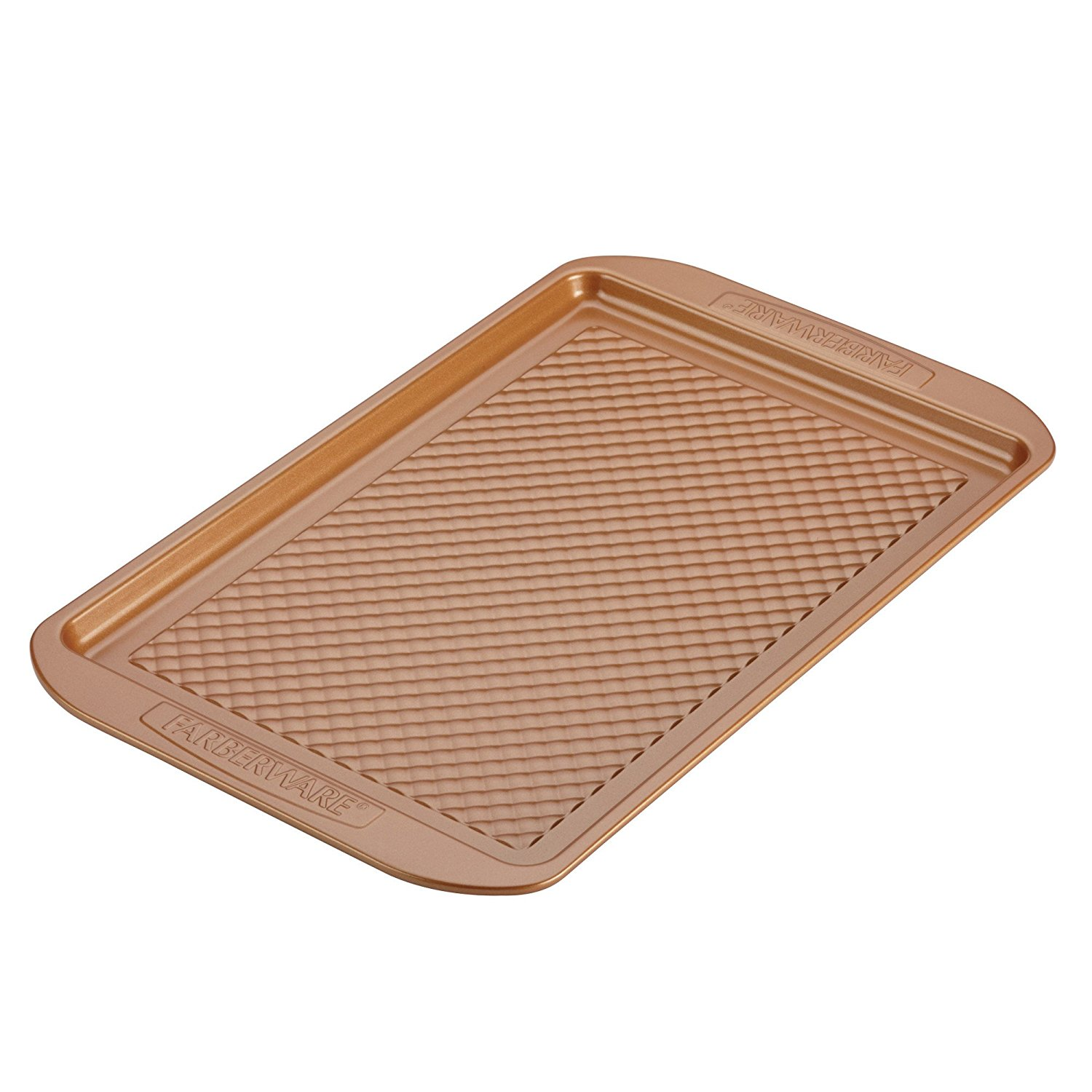 11-Inch x 17-Inch Cookie Pan, Copper, Constructed from durable, warp-resistant steel for long-lasting,... by