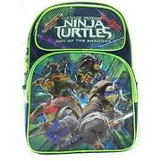 """Backpack - TMNT - Movie-2 Navy 16"""" School Bag New 676287"""