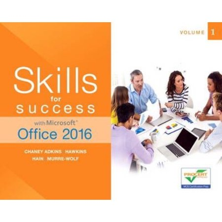 Skills for Success with Microsoft Office 2016