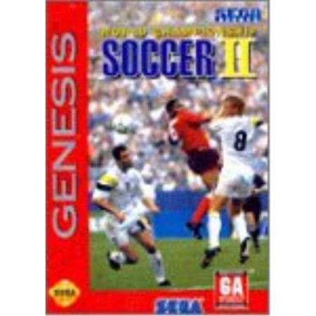 World Championship Soccer 2 for Sega Genesis