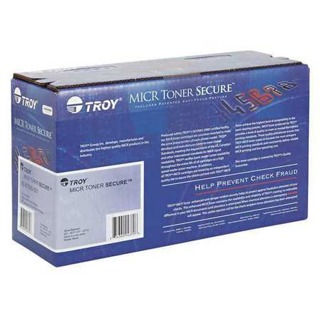 Troy 0281550001 80A MICR Toner Secure, 2700 Page-Yield, Black