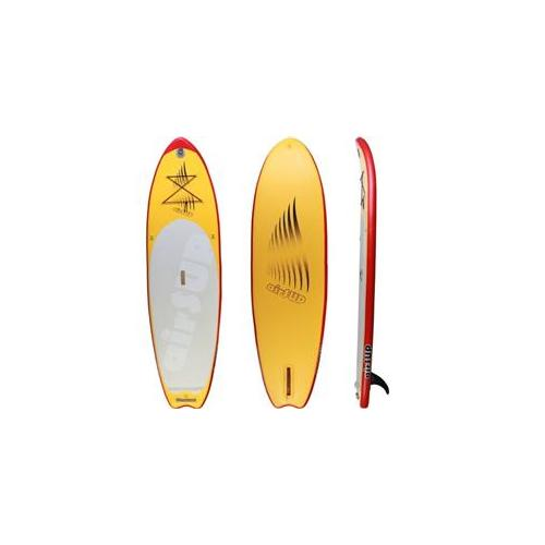 airSUP AS-96SL 9 ft.  6 x 32 x 4 inch Inflatable Stand Up Paddleboard, Yellow