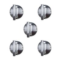 (5 Pack) 74007733 Burner Control Knob for Whirlpool, Maytag Oven