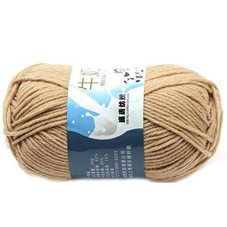 Cotton Chenille Knitting Yarn - Multi Color Warm DIY Milk Cotton Yarn Baby Sweater Yarn Knitting Children Hand Knitted Knit Blanket Crochet Yarn