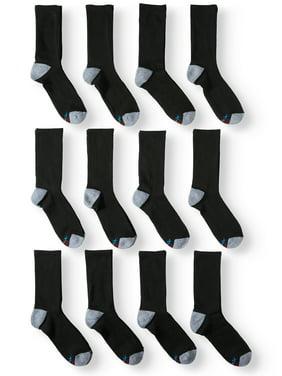Men's X-Temp Active Cool Lightweight Crew Socks, 12 pack