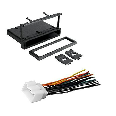 ford 1999 - 2003 f-150 car cd stereo receiver dash install ... custom ford wiring harness kits iphone ford wiring harness kits