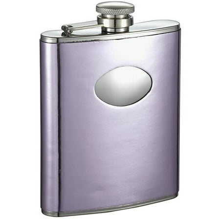 Visol Products Leatherette Stainless Steel Hip - Leatherette Flask