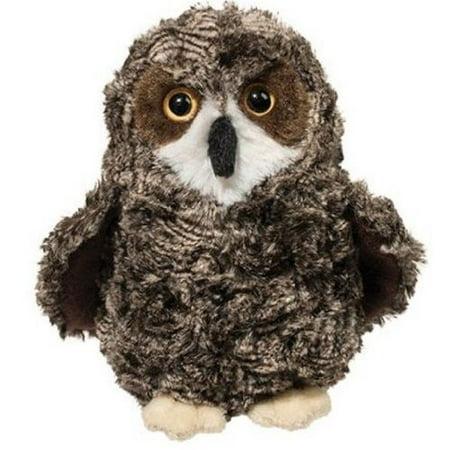 Shrill Saw-Whet Owl 10 inch - Stuffed Animal by Douglas Cuddle Toys (3846) - Stuffed Owl Toy