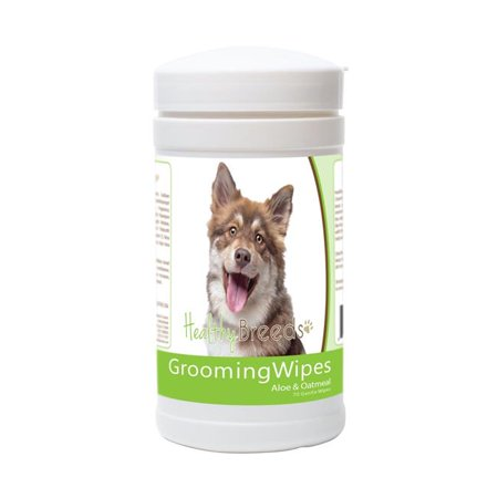 Healthy Breeds 840235172963 Finnish Lapphund Grooming Wipes - 70 Count - image 1 de 1