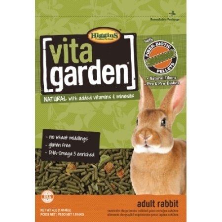 Higgins Vita Garden Rabbit Small Animal Food  4 Lb