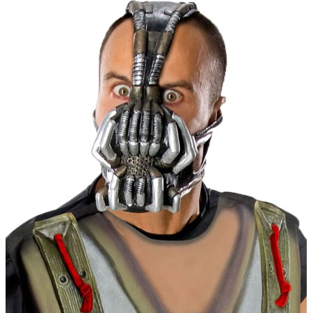 Bane Dark Knight Rises Villain Adult Mask R4891/29 (The Dark Knight Rises Bane Halloween Mask)