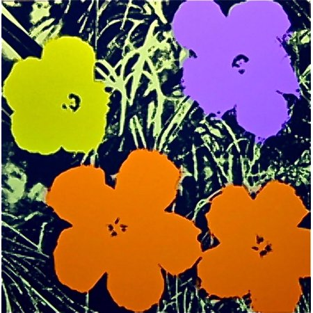 Flowers #67 by Andy Warhol Floral Art Print