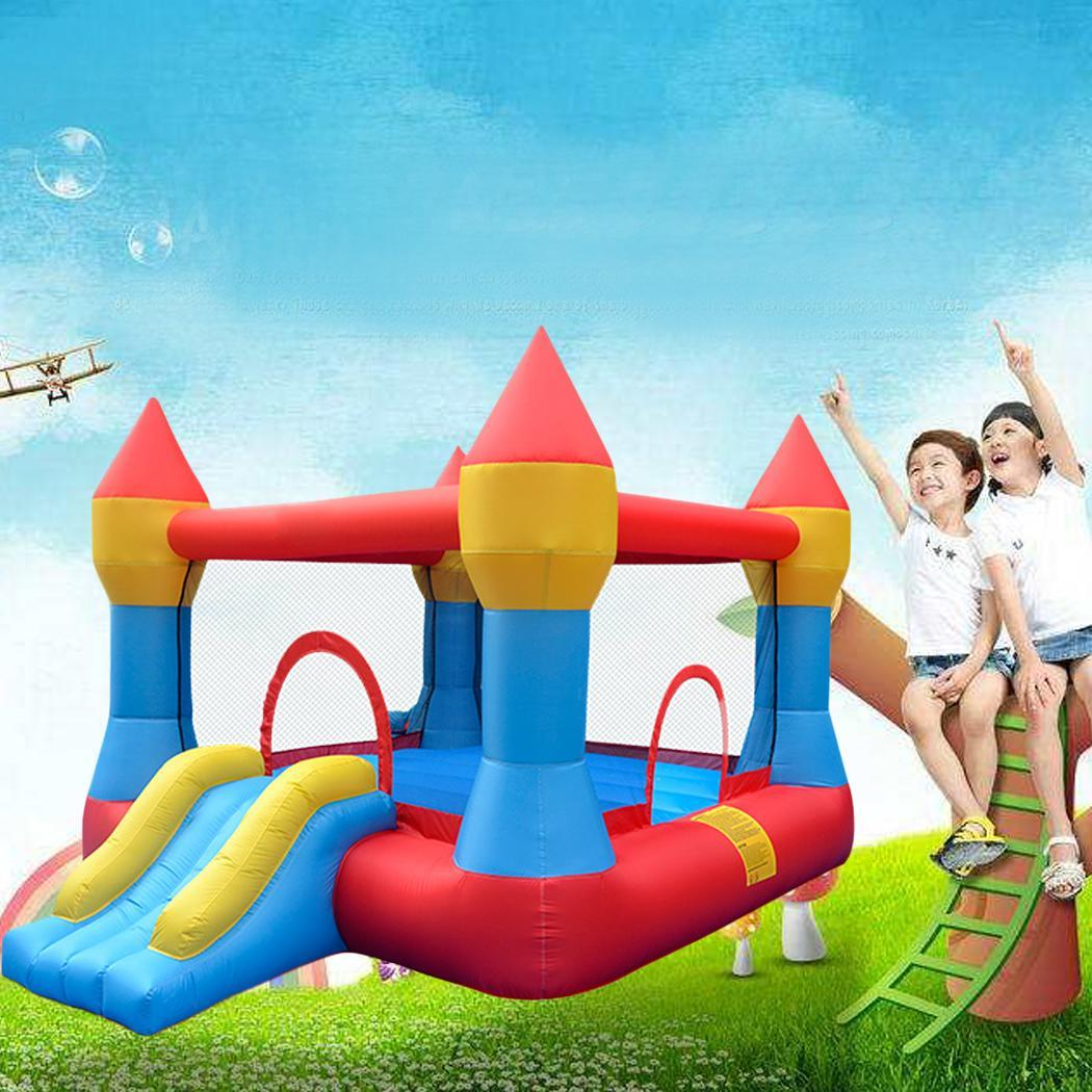 Inflatable Castle Mighty Bounce House Jumper Moonwalk Bou...