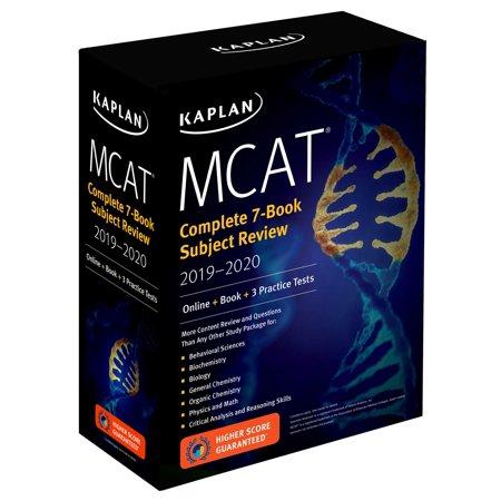MCAT Complete 7-Book Subject Review 2019-2020 : Online + Book + 3 Practice Tests - Halloweentown Online