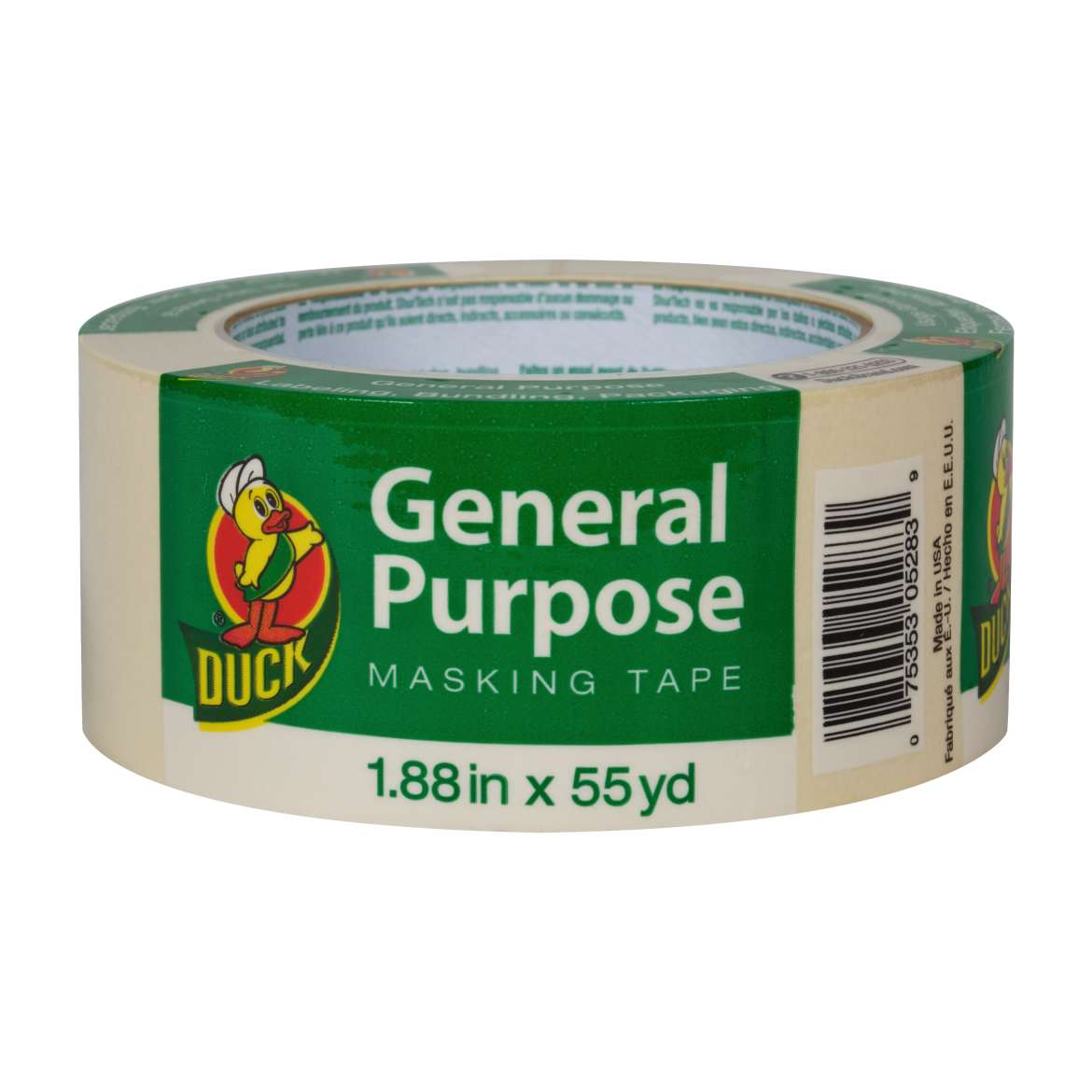 "Duck Brand 2"" General Purpose Masking Tape, 55 yds"