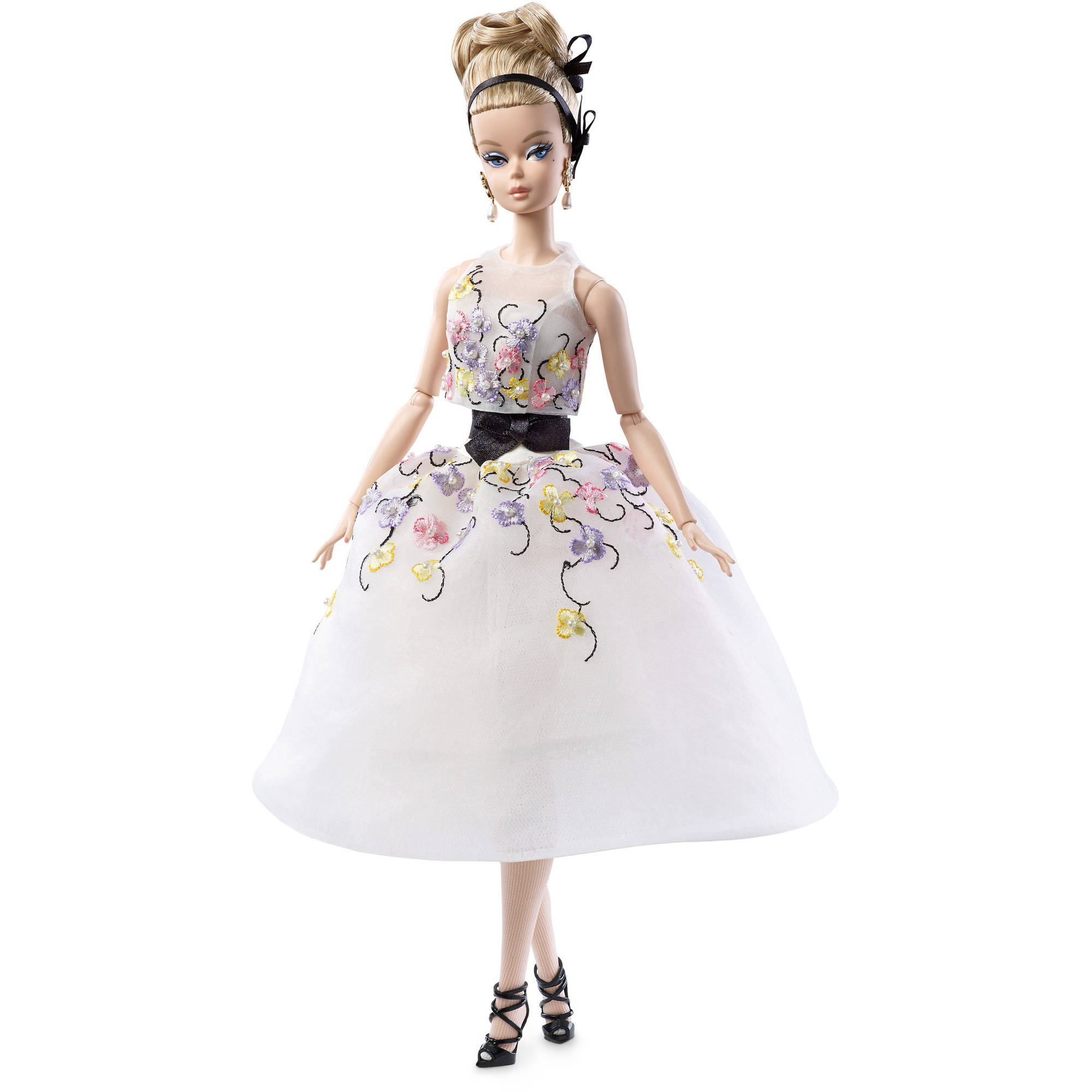 Barbie Fashion Model Collection Glam Dress Doll by Mattel