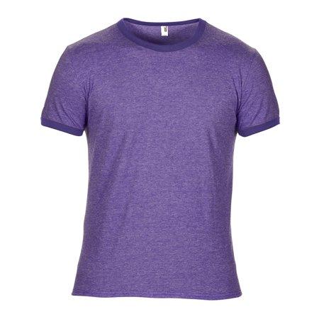 Anvil Men's Lightweight Ringer T-Shirt - 988