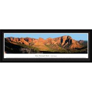 Blakeway Worldwide Panoramas, Inc National Park Zion National Park - Kolob Canyons by James Blakeway Framed Photographic Print