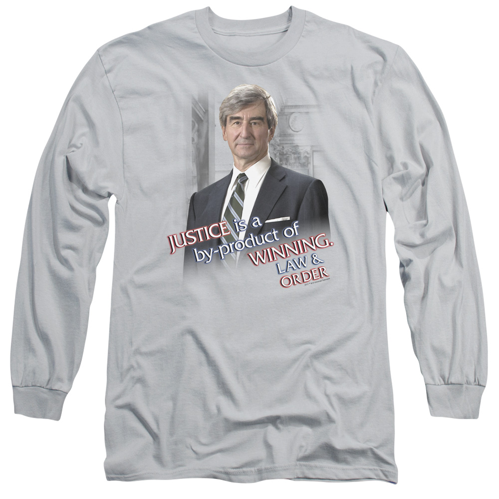 Law & Order Jack Mccoy Mens Long Sleeve Shirt