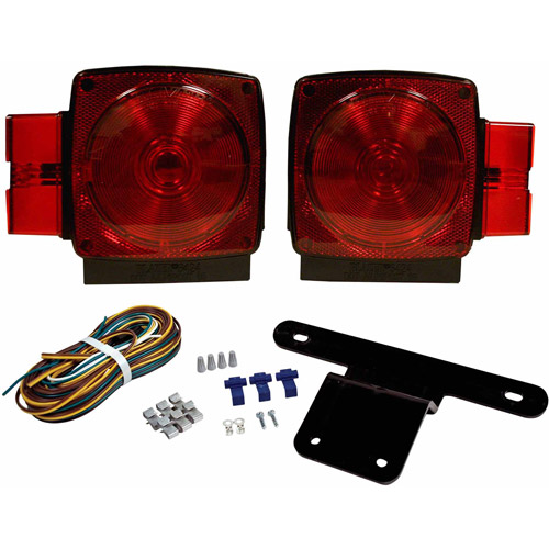 "Blazer C6424 Submersible Trailer Light Kit for Trailers Over and Under 80"" Wide, 1 Pair"