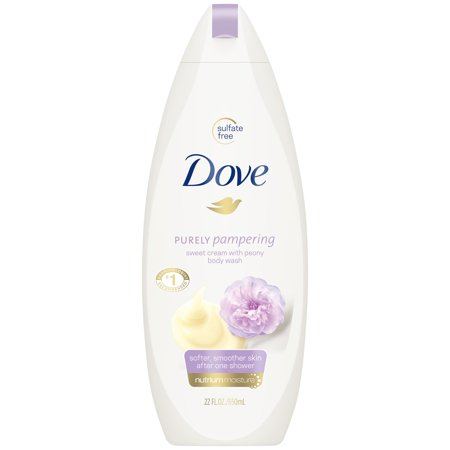 (2 pack) Dove Purely Pampering Sweet Cream and Peony Body Wash, 22 oz